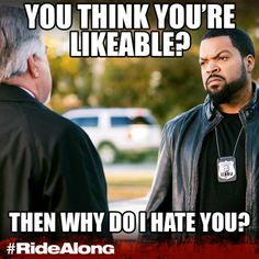 Think it's easy to impress Ice Cube? Think again.  #RideAlong is in theaters January 17.
