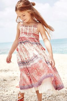 Incorporate pretty paisley prints into your little one's summer dress collection. Latest Fashion For Women, Kids Fashion, Paisley, Girls Dresses, Summer Dresses, Dress Collection, Girl Outfits, Fashion Trends, Uk Online