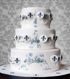 Pasteles de boda Medern ♥ Decoraciones Pastel de boda