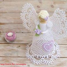 háčkovanie Anjel