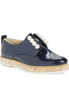AGL Attilio Giusti Leombruni 'Pearl' Slip-On Oxford (Women) available at #Nordstrom