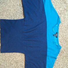 Blouse Tq and dark blue blouse.No stains,clean worn only few times Style & Co Tops Blouses