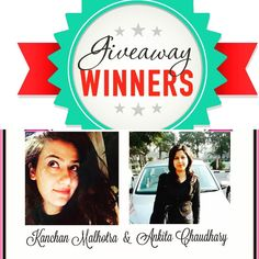 Giveaway Winners for my 6 Months blog Anniversary Giveaway Contest  Heya Girls! First of all A HUGE THANK YOU to everyone who participated. I truly appreciate everyone who had taken the time and efforts to participate in my 6 Months blog Anniversary Giveaway contest launched on 14th April 2016. Thank you for the support and love to make this Giveaway contest successful.  I am so happy to announce the winners!! So the Winners are :  Ankita Choudhary and Kanchan Malhotra Congratulations to the…