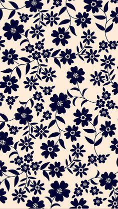Wallpaper Iphone Quotes Backgrounds, Live Wallpaper Iphone, Flower Phone Wallpaper, Vintage Flowers Wallpaper, Flower Pattern Design, Cute Disney Wallpaper, Pretty Wallpapers, Background Patterns, Pattern Wallpaper