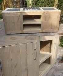 Αποτέλεσμα εικόνας για zelf een buitenkeuken maken van steigerhout