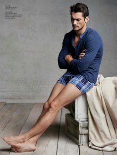 David Gandy: Hot & Sexy. Lucky Brand Primavera Verano 2013