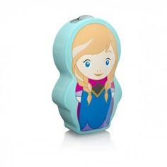 Philips Disney LED Taschenlampe Anna 717673616, 5lm, blau/bunt