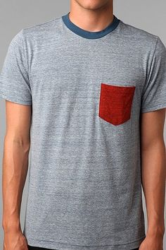 Urban Outfitters men's t-shirt. I really want this in the purple, gray, and black color. And it's only $18.
