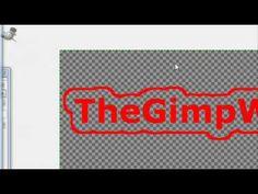 How to make a custom GIMP Brush