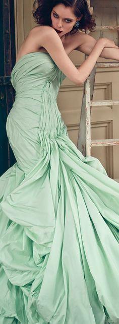 Mint green   dress, fashion photography
