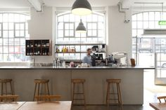 Lyle's restaurant by B3 Designers, London – UK