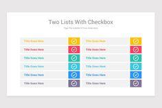Editable Checklist PowerPoint Template | Nulivo Market Templates, Marketing, Stencils, Vorlage, Models