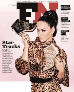 Katy Perry quer emplacar no mercado de calçados e é a capa da revista Footwear News http://www.breaktudo.com/katy-perry-quer-emplacar-no-mercado-de-calcados-e-e-capa-da-revista-footwear-news/