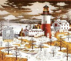 """""""Winter Light"""" ~ by Charles Wysocki"""