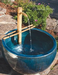 Bamboo Accents 18-in. Adjustable Spout and Pump Fountain Kit.  This will look beautiful on my deck with my other flower pots.