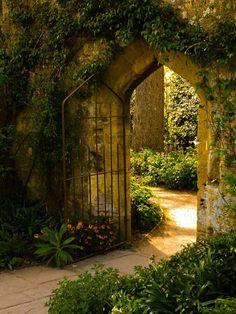 The Secret Garden by Stephen Warner, . - Stephen Warner& Secret Garden, the - The Secret Garden, Secret Gardens, Life Is Beautiful, Beautiful Gardens, Beautiful Places, Garden Doors, Garden Gates, Garden Beds, Garden Entrance