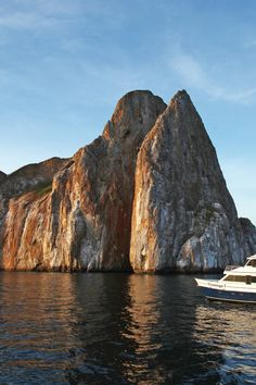 This Galapagos adventure sets sail around the islands in one of Ecoventura's 20-guest yachts. #Jetsetter