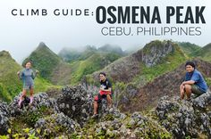 Osmenas Peak is the highest point in the province of Cebu. The mountain boasts a magnificent twilight view when the sun starts setting down the slopes of Negros. The Province, Cebu, Climbing, Philippines, Mountains, Diy, Travel, Outdoor, Outdoors