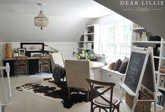 Some Progress in Our Bonus Room - Dear Lillie Studio