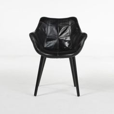 LEWIS LEATHER ACCENT CHAIR