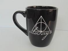 HP Always. coffee mug by thelittlevinylsaur on Etsy, $15.00