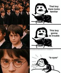 Snape. Snape. Severus Snape.