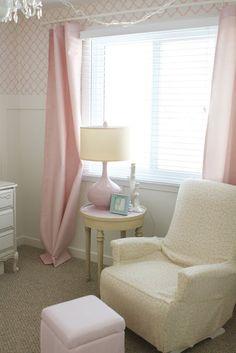 vintage pink nursery