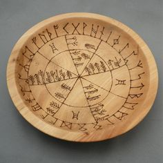 Elm Divination Bowl witch pagan craft inspiration