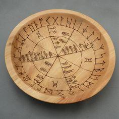 Elm Divination Bowl witch pagan craft inspiration