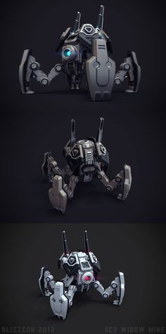 Polycount Forum - View Single Post - What Are You Working On? Zbrush, Arte Robot, Robot Art, Animal Robot, Character Concept, Character Design, 3d Modelle, Arte Cyberpunk, Modelos 3d