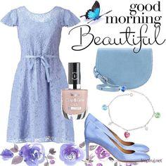 Stylizacje dnia z Inspiruj.net –błękit letniego nieba - KobietaMag.pl Dark Blue, Summer Outfits, Navy, Image, Ideas, Fashion, Moda, Fashion Styles, Dark Teal
