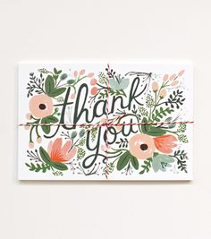 How beautiful are these cards from Rifle Paper Co? Lovely!