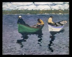George Lukes Fishermen c.1920, oil. Met Museum. Gift of Adelaide Milton DeGroot, 1967. Accession number 208.