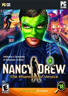 """It's up to you as Nancy Drew""   For The Lastest Games At The Best Prices Try Here  multicitygames.com"