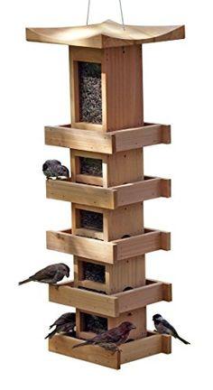 Naturalyards Pagoda Bird Feeder 5-Level Tall, Cedar Natur... https://www.amazon.com/dp/B016J0OVY0/ref=cm_sw_r_pi_dp_x_PPYezbVT223BE