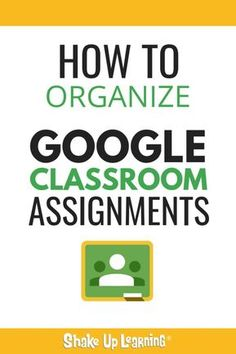 If you're wondering how to organize Google Classroom assignments, look no further! Check out these organizational strategies and tips on how to productively use Google edtech in the classroom #edtech #googleclassroom #google #shakeuplearning #education >>> via shakeuplearning.com