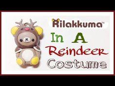 ▶ Polymer Clay Rilakkuma in a Reindeer Costume Tutorial