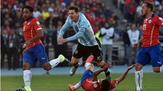 Lionel Messi's family was attacked by Chile fans and Lionel Messi himself was kicked in the chest? Where do they do this at ? Is it time for Chile to be banned from the sport?