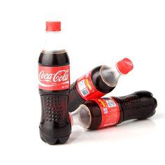 Spedizione gratuita Butano accendini a gas bottiglia di Coca Cola forma novità più leggero