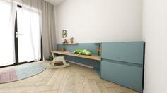 Návrh interiéru detskej izby - interiér Slnečnice, Bratislava - Interiérový dizajn / Children´s room interior by Archilab