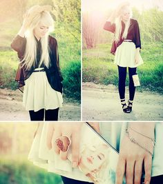 Minty green love affair. (by Kerti P.) http://lookbook.nu/look/1910488-Minty-green-love-affair