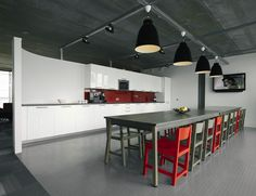 clean kitchen in the #office