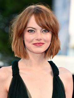 Die passenden Frisuren für runde Gesichter. Seht hier Frisuren von Stars und Models, die bei runden Gesichtern toll aussehen.