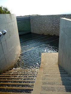 The Benesse House Hotel, Naoshima Island Art complex, Japan designed by Tadao Ando Architects :: Oval