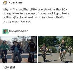 Ok seriously if you haven't seen It and you like Stranger Things I highly recommend they have pretty similar vibes and It is super funny and barely scary at all (if that's what your worried about) Funny Memes, Hilarious, Jokes, It The Clown Movie, Stranger Things Funny, It Movie Cast, It Goes On, Super Funny, The Book