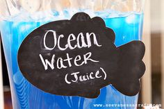 """Ocean Water"" punch"