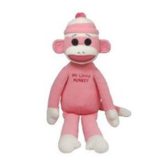 Current 1628: Ty Beanie Buddy - My Little Monkey - Pink Large -> BUY IT NOW ONLY: $44.41 on eBay!