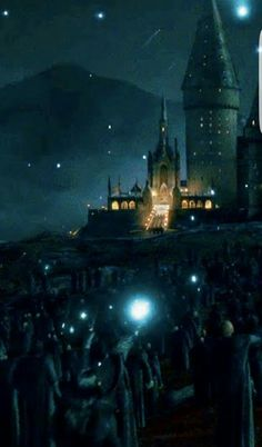Raise your wands  for the fallen