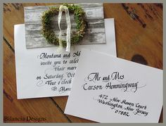 """The Cowgirl Wedding Invitation"" by Bilancia Designs"