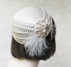 hats   ... Tilt Hat 1940's Art Deco Style by Gail's Custom Hats   CustomMade.com